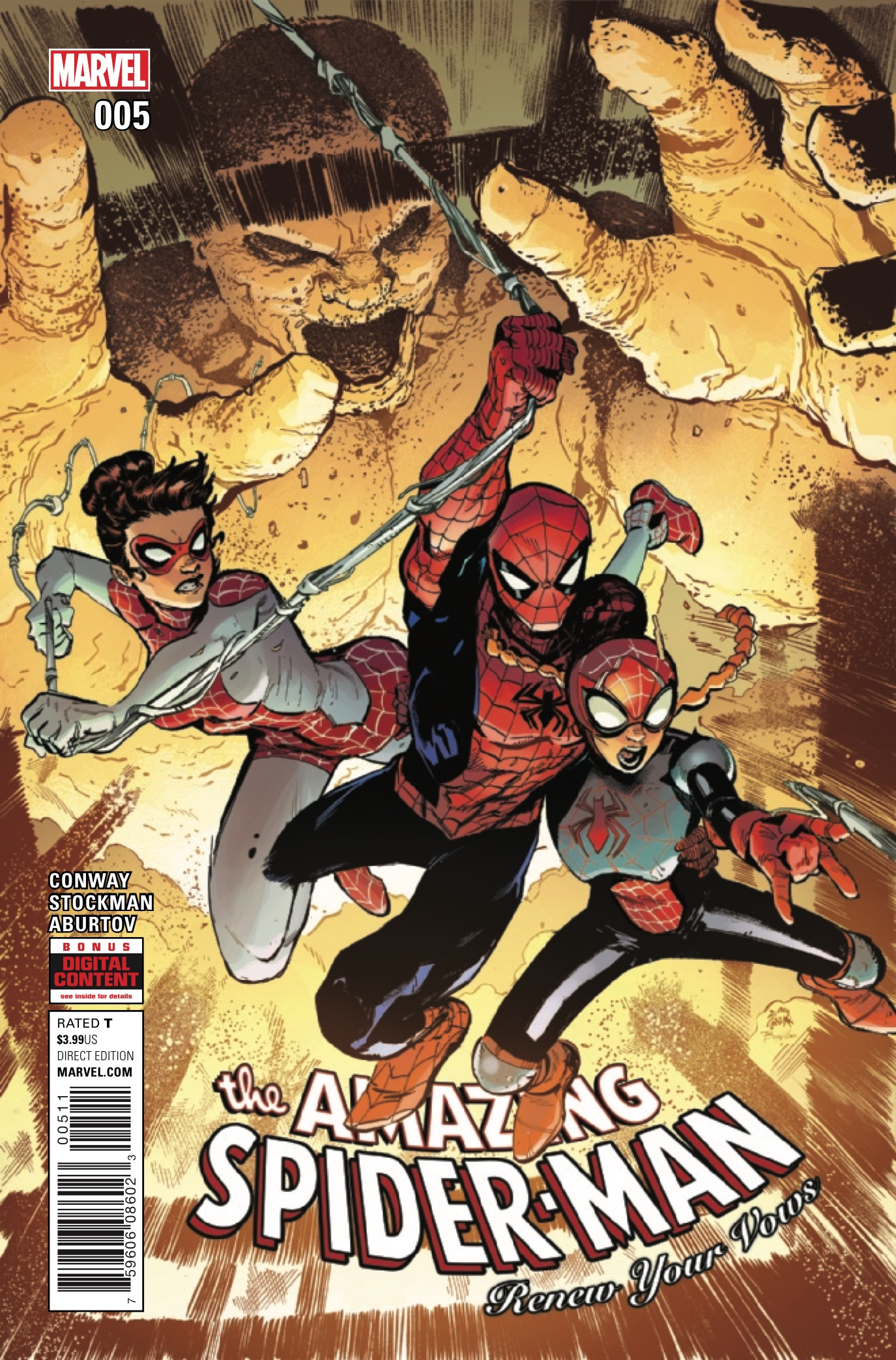 Marvel Preview: Amazing Spider-Man: Renew Your Vows #5
