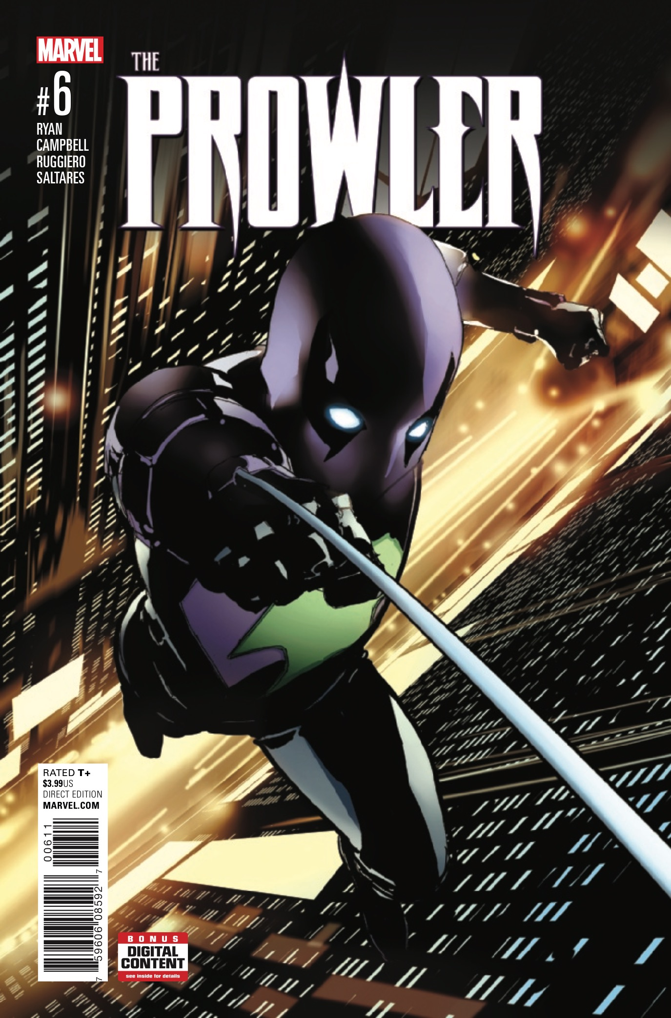 Marvel Preview: Prowler #6