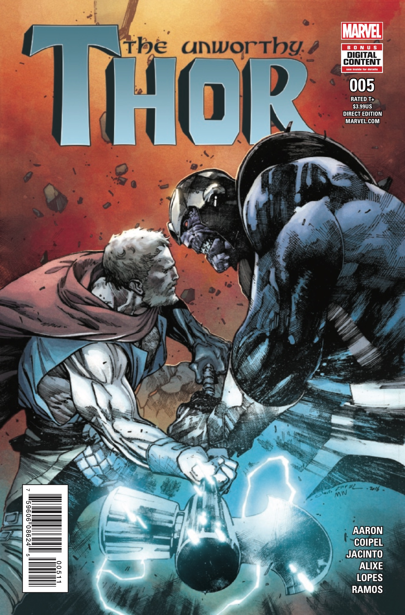 Marvel Preview: The Unworthy Thor #5