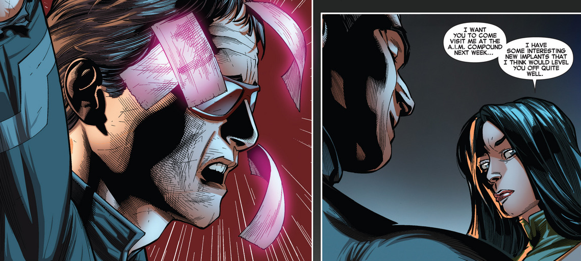 Brandon Peterson's time on All-New X-Men draws to a close with All-New #21, the conclusion to the Purifiers arc. Although I've had mixed feelings (some bad, some terrible) about the past two issues I was so ready for this team to end it on a high. But is that even possible with such a terrible beginning to the arc? Is it good?