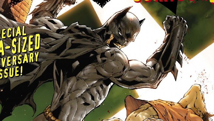 """As any true Batman fan should know, the Caped Crusader made his first appearance in 1939 within the pages of Detective Comics #27, courtesy of Bill Finger and, allegedly, Bob Kane. Now that the New 52's rebooted Batman: Detective Comics has hit #27, readers are presented with a """"special mega-sized anniversary issue"""" celebrating 75 years of the Dark Knight, """"featuring an all-star roster of creators"""" including Neal Adams, Scott Snyder, Mike Barr, and Francesco Francavilla. It even has a spine! But is it good?"""
