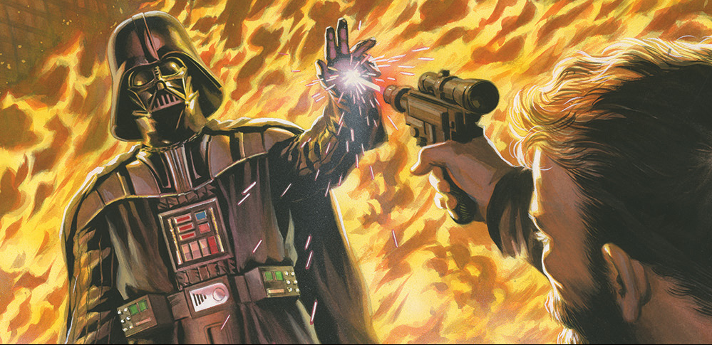 While he may be most well-known for his popular Twitter account, @badbanana, Tim Siedell has created quite a bit of well received writing that was not limited to 140 characters. Recently, Siedell brought his talents to the Star Wars universe with the excellent mini-series, Star Wars: Darth Vader and the Ninth Assassin.