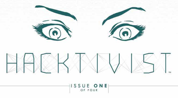 Recently purchased by Boom! Studios, comic publisher Archaia is back in the monthly comics game with Hacktivist, a fast-paced cyber-thriller from the creative mind of...Alyssa Milano? Hmm...is it good?