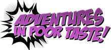 Adventures in Poor Taste logo