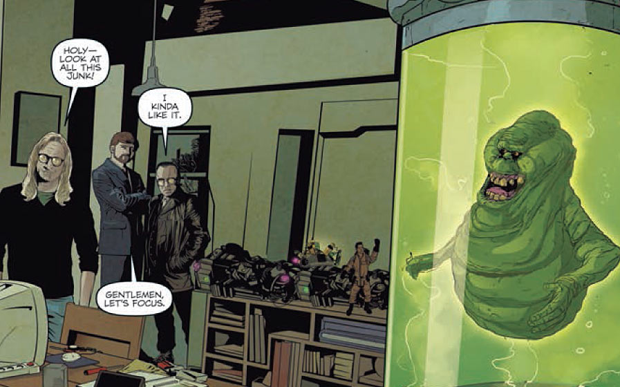 Is It Good? The X-Files Conspiracy: Ghostbusters #1 Review