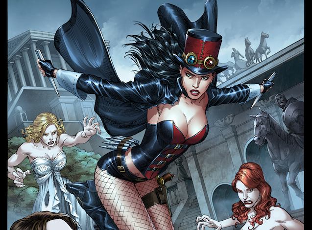 Adventures in Poor Taste: Glad to talk to you again Pat! Last we spoke was back in August. Anything new happen lately in that writer's life of yours over at Zenescope?