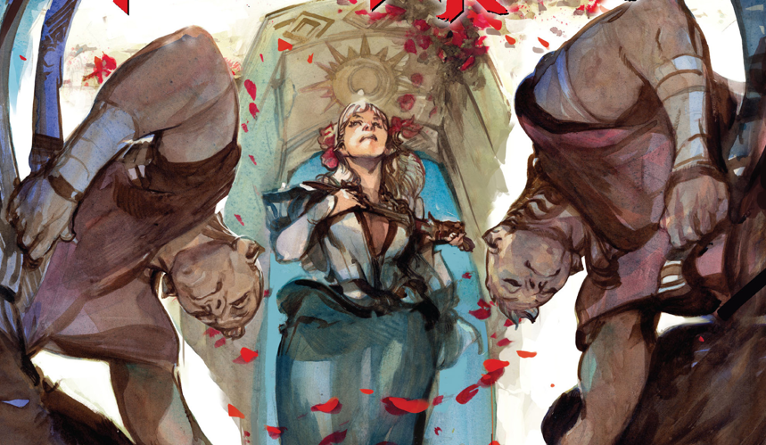 The last issue of Hinterkind was so-so in comparison to the previous ones, which were progressively getting better and better.  Can this issue get us back track?  Is it good?