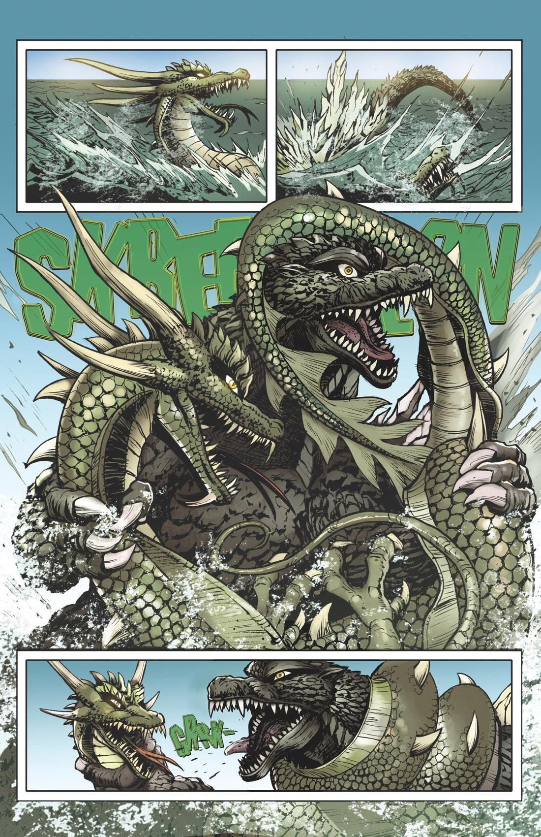 is it good godzilla rulers of earth 9 review � aipt