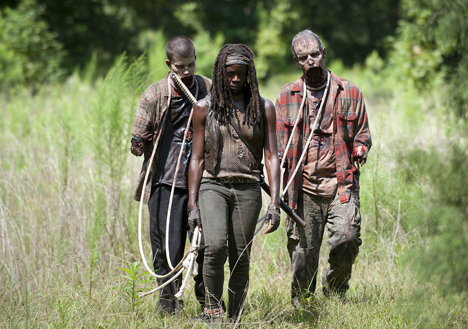 In December's midseason finale, the undead brains hit the proverbial fan as The Governor launched a full scale frontal assault on the prison. After a heaping helping of death and destruction, Rick's prison group was sent limping away and scattered in multiple directions.