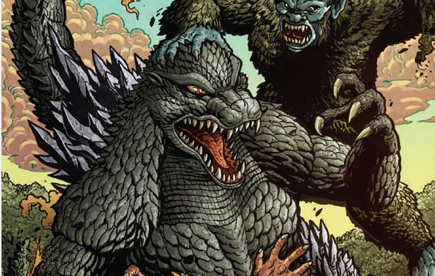 In last month's issue, Godzilla kicked a lot of ass and we got a lot of badly needed (and superbly executed) exposition. Will issue #10 gives us more of the same (particularly in the ass kicking department). Will the plot finally start making sense to those of us who are not completely knowledgeable about kaiju lore? Is it good?