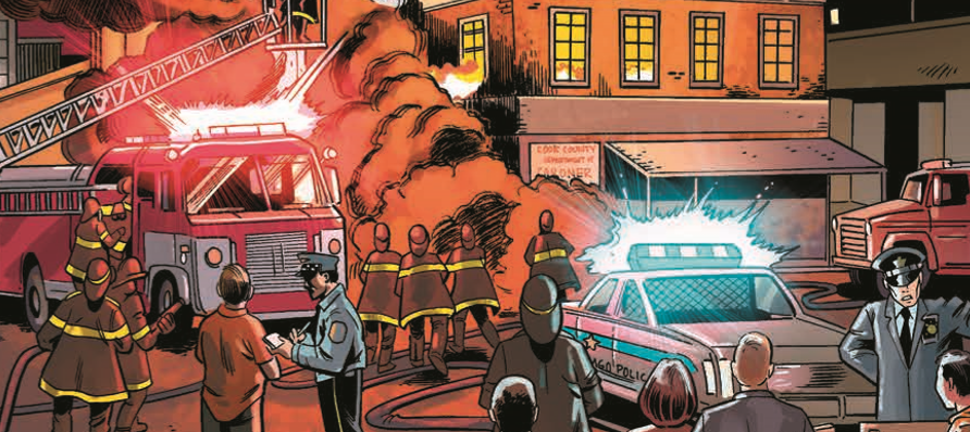 And so we reach the finale for the first arc of Protectors, Inc. It has been a slow moving series, but with the last issue, things definitely seem to be picking up.  Is it good?