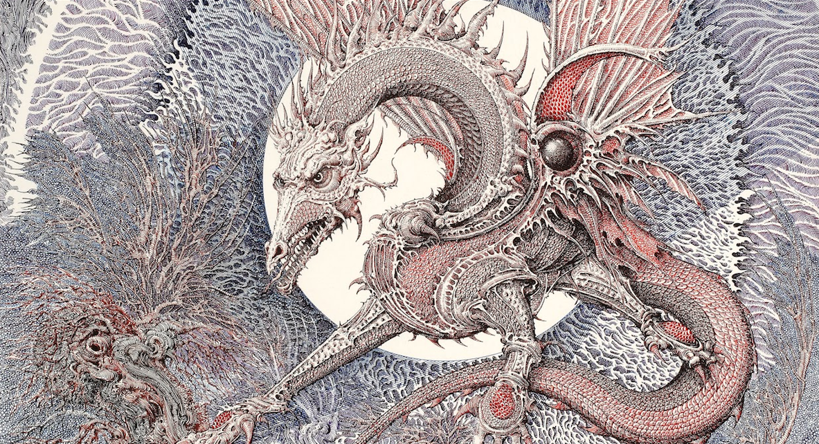 The Art of Ian Miller can be described in two words: transmogrification and phantasmagorical.