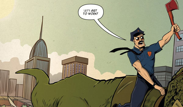 Is It Good? Axe Cop: American Choppers #1 Review