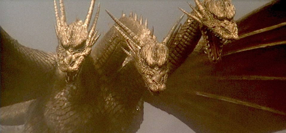 "With the fifth film in the Godzilla franchise, the series begins to take a noticeable step in the direction of camp. While not incredibly, overtly goofy, there's certainly enough of it to get the ball rolling.  Some call it quits around here because they don't dig that direction (this movie establishes Godzilla as ""misunderstood"", moving him away from ""bad guy"" status), but my favorite installments are from the latter half of the Showa era. Ghidorah: The Three-Headed Monster, despite its more light-hearted moments, is actually one of very best sequels in the Showa series, and I'd recommend it even if you're a sour-pussed stick in the mud. Why?  Because Ghidorah, the Three-Headed Monster is all about excess: More subplots, more characters, more monsters and more action."