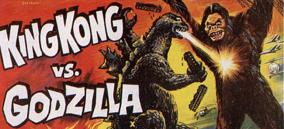 I first saw King Kong vs. Godzilla many, many years ago on the Sci-Fi Channel. They were doing a week-long Godzilla marathon (one Godzilla flick each night) hosted by the late Peter Boyle, of all people. King Kong vs. Godzilla was shown on the second night and believe me, I was jumping through the roof. You see, I had no idea this film existed at the time.  So discovering that tonight, my favorite giant lizard would be battling such a legendary film icon absolutely thrilled me. Ahhh, sweet memories.