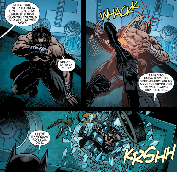 Batman vs Nightwing : whowouldwin