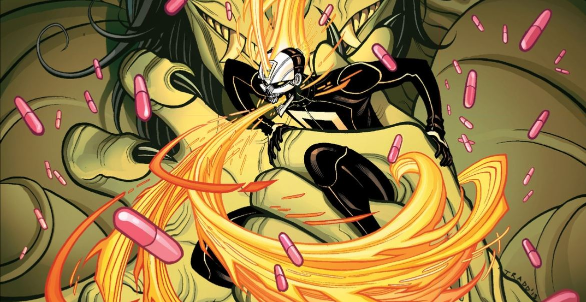 A new Ghost Rider has arrived and he lives in LA, has a handicapped brother, oh, and he was killed over drugs. Is it good?