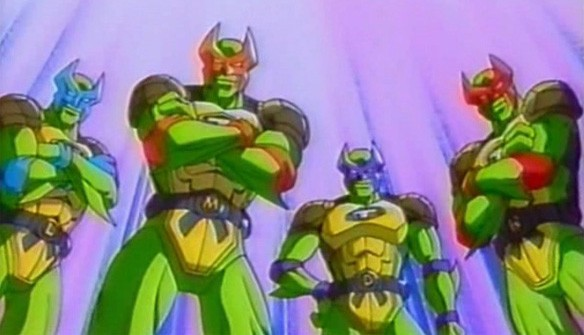 TMNT Anime OVAs (1996) Review: Mutant Turtles: Superman Legend