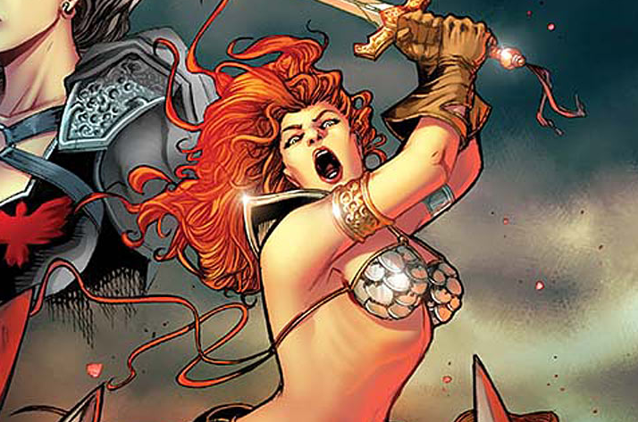 Dynamite keeps pumping out Red Sonja one-shots and I can't stop eating them up! But hell, a one-shot can still be hit or miss (just look at how crappy most annuals are).  Is it good?