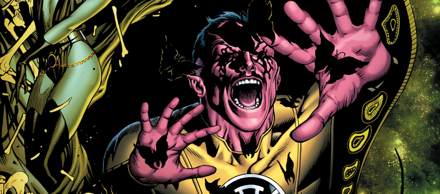 I wasn't sure if I'd come back to Sinestro after the first issue.