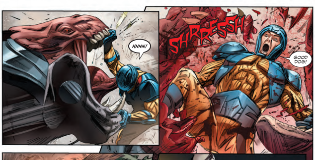 Panels in Poor Taste: 7/11/14 –Butt Shots and Zombie Entrails