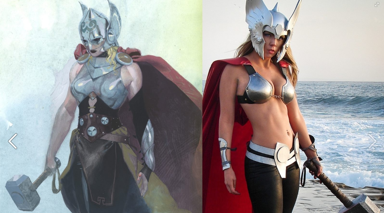 Female Thor Cosplay by Toni Darling