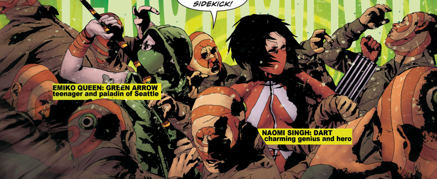 Is It Good? Green Arrow: Futures End #1 Review