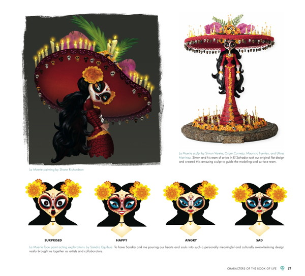 Character Design Book Of Life : The art of book life review aipt