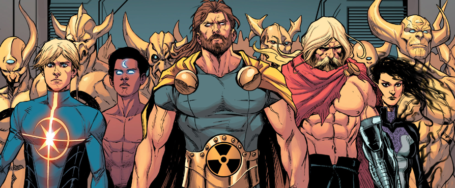 Hickman's Avengers ends in 7 months and things finally seem to be heating up in the title.