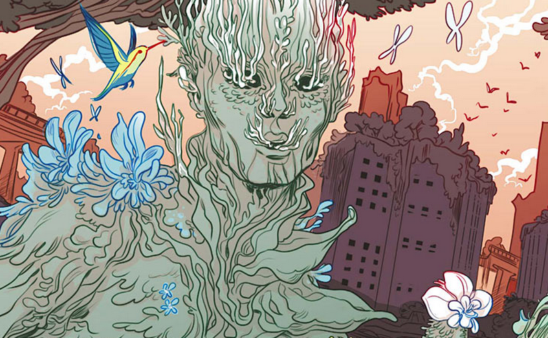 We've reached the finale for Hinterkind's second story arc.  While the last issue was a bit of a miss, the entire arc has really elevated the entire comic in my mind; it's worked on progressing and developing the characters and world fairly well, while also getting some good stories going as well.