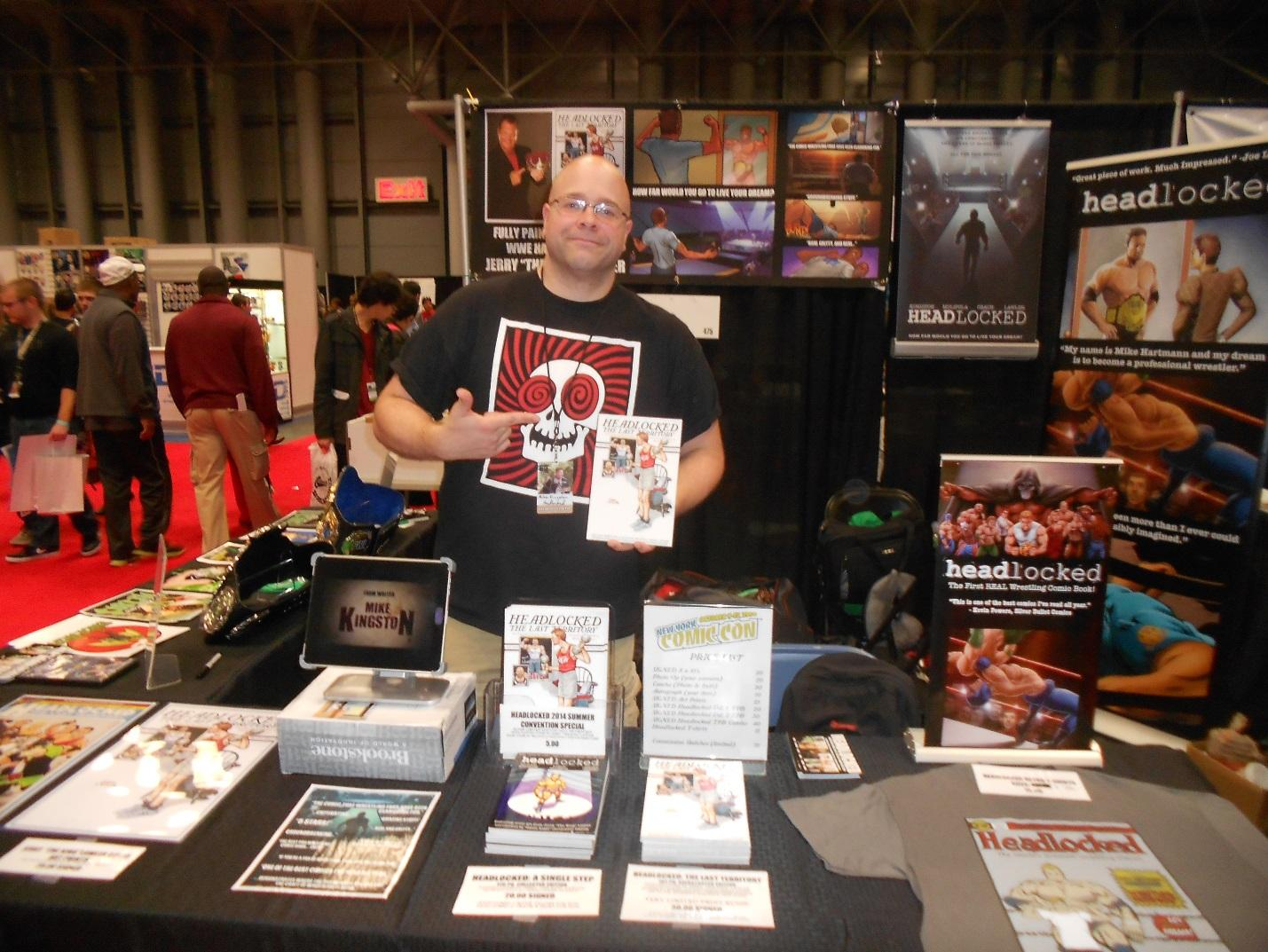 NYCC14: Interview with 'Headlocked' Creator Mike Kingston