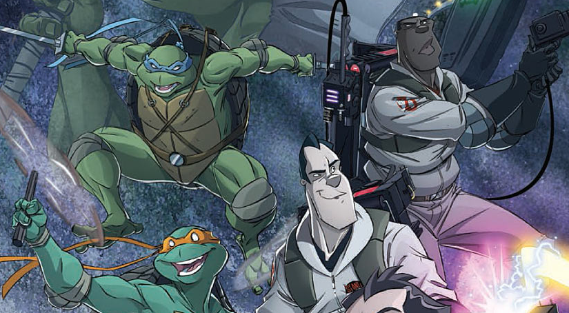 Is It Good? Teenage Mutant Ninja Turtles/Ghostbusters #1 Review