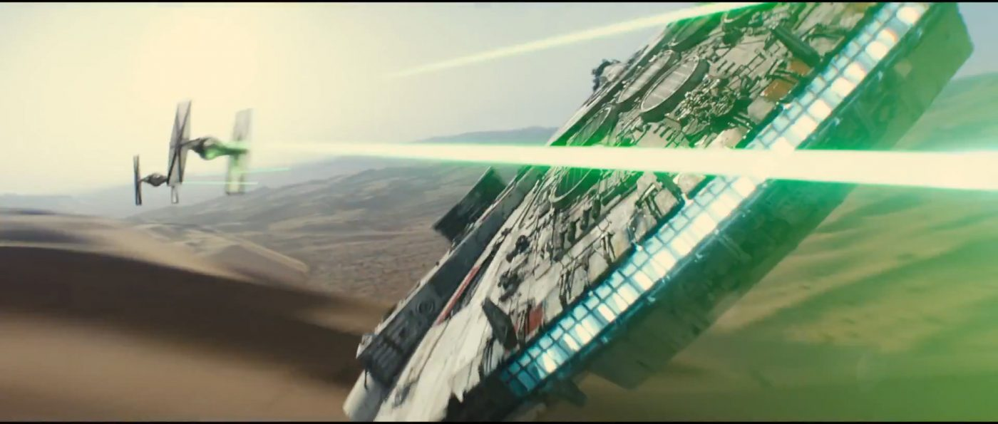 Star Wars:  Episode VII - The Force Awakens Official Teaser Trailer