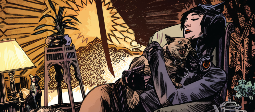 You know who we haven't checked in on in a while? Catwoman! I wonder how her campaign to become the new crime lord of Gotham is going? Let's find out in the latest issue of Batman Eternal!