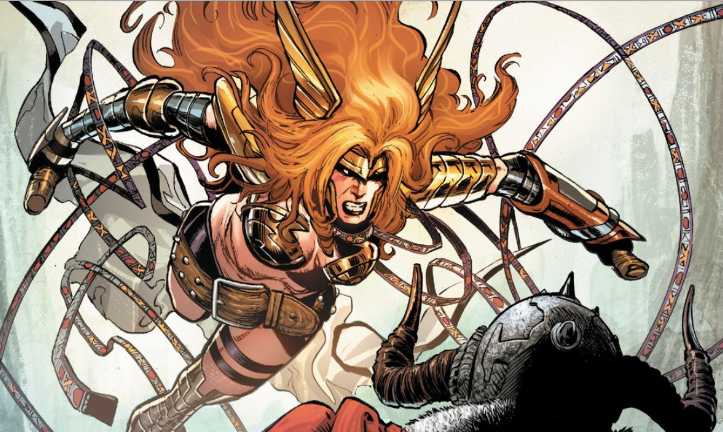 Angela finally gets her own ongoing series now that Marvel has introduced her over in Guardians of the Galaxy.  The question remains: do we get answers as to her place in the Marvel Universe and of course... is it good?