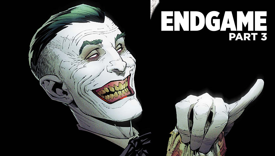 "Joker is back and this time he wants Batman dead and buried hence the title ""Endgame"" slapped on the cover."