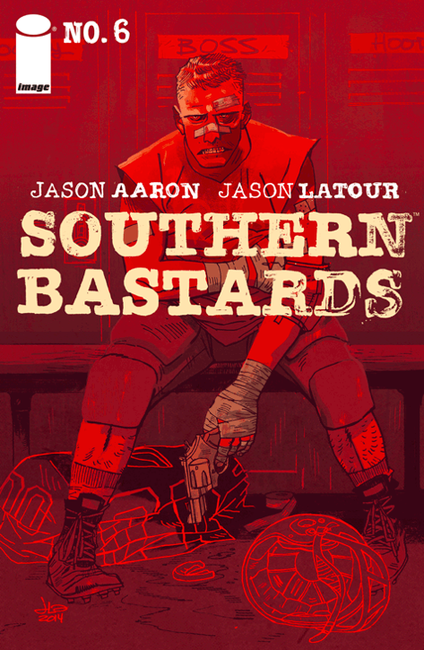 Southern Bastards number six hits you like a sack of bricks. Admittedly, it's very football-centric, but I still managed to enjoy it, despite having no interest in football whatsoever. Y'all wanna read what tragedy is? Is it good, Southern Bastards, issue number six.