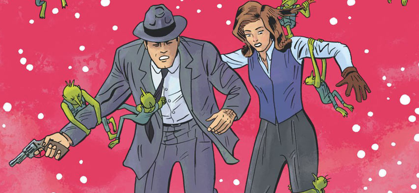 IDW caps off a very good year for the X-Files comic franchise with a Christmas special. Is it good?