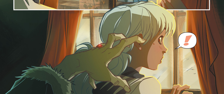 It's felt like forever since the last issue of Gotham Academy came out. It went from being a book that came out the first of every month to one shoved all the way to the end of the month, which made the wait between the third and fourth issues feel exceptionally long.