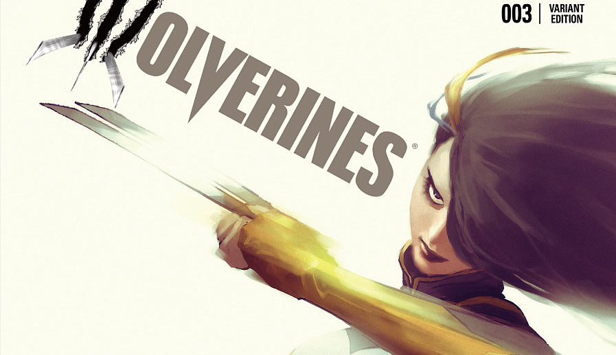 The first issue of Wolverines got off to a rocky start and the second issue was pretty slow (there were some good moments, just not much happening).  However, the third issue promises a brand new character, so let's see if she's the vital ingredient for this title's success.