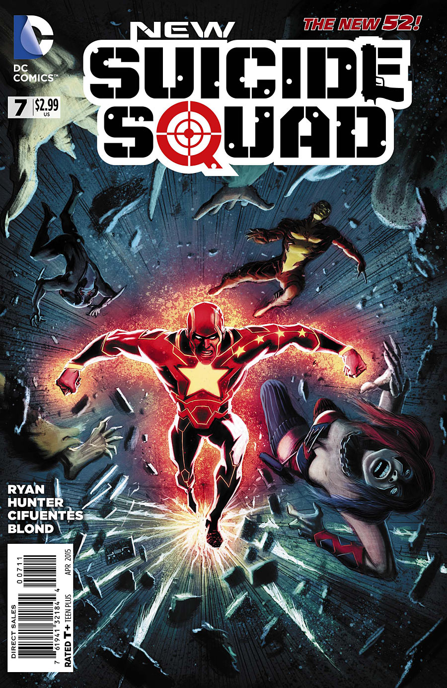 I won't sugar coat it. Suicide Squad has been bad recently. Real bad. Between the art and the elemental speech patterns all the characters have seemingly adopted throughout this story arc, this may be the deciding issue to just tap out of the series as a whole. So, drumroll please, let's see if it's good.