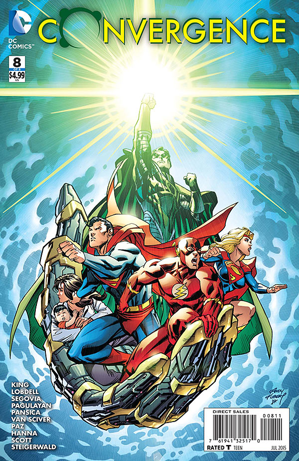 And just like that, Convergence has ended.  While it hasn't exactly met expectations and left some readers disappointed, the most recent issues have built towards what we hope to be a climatic finish to the event. So is the finale good?
