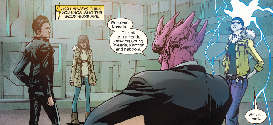 """The solicit promises that issues #15 will see Ms. Marvel face her """"most confusing challenge yet."""" Is it good?"""