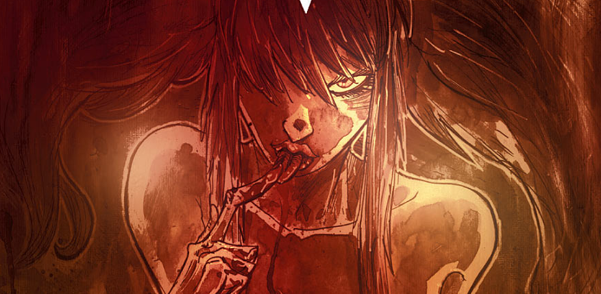 Psychopathic reptilian humanoids, seers whose powers only manifest while receiving a blowjob, stitched together hermaphrodite pimps, and a young boy trying to save his dying sister are just a few of the characters you will encounter in Godkiller:Walk Among Us, Vol. 1.