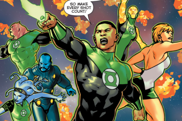 Green Lantern  The Lost Army #1 00