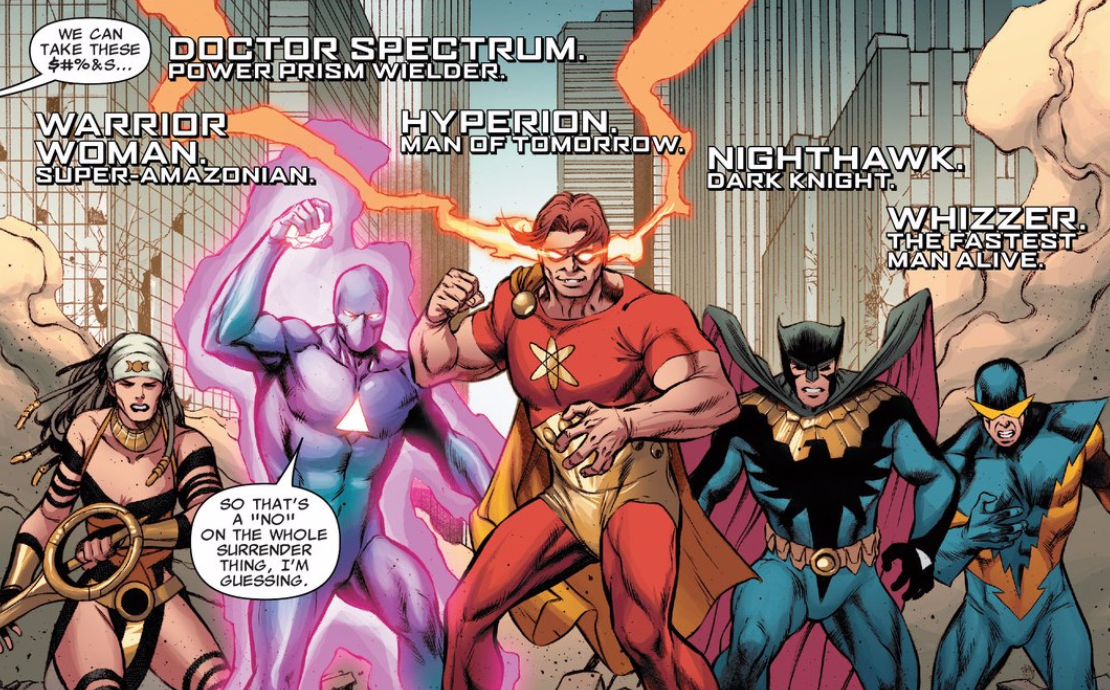 Is It Good? Squadron Sinister #1 Review