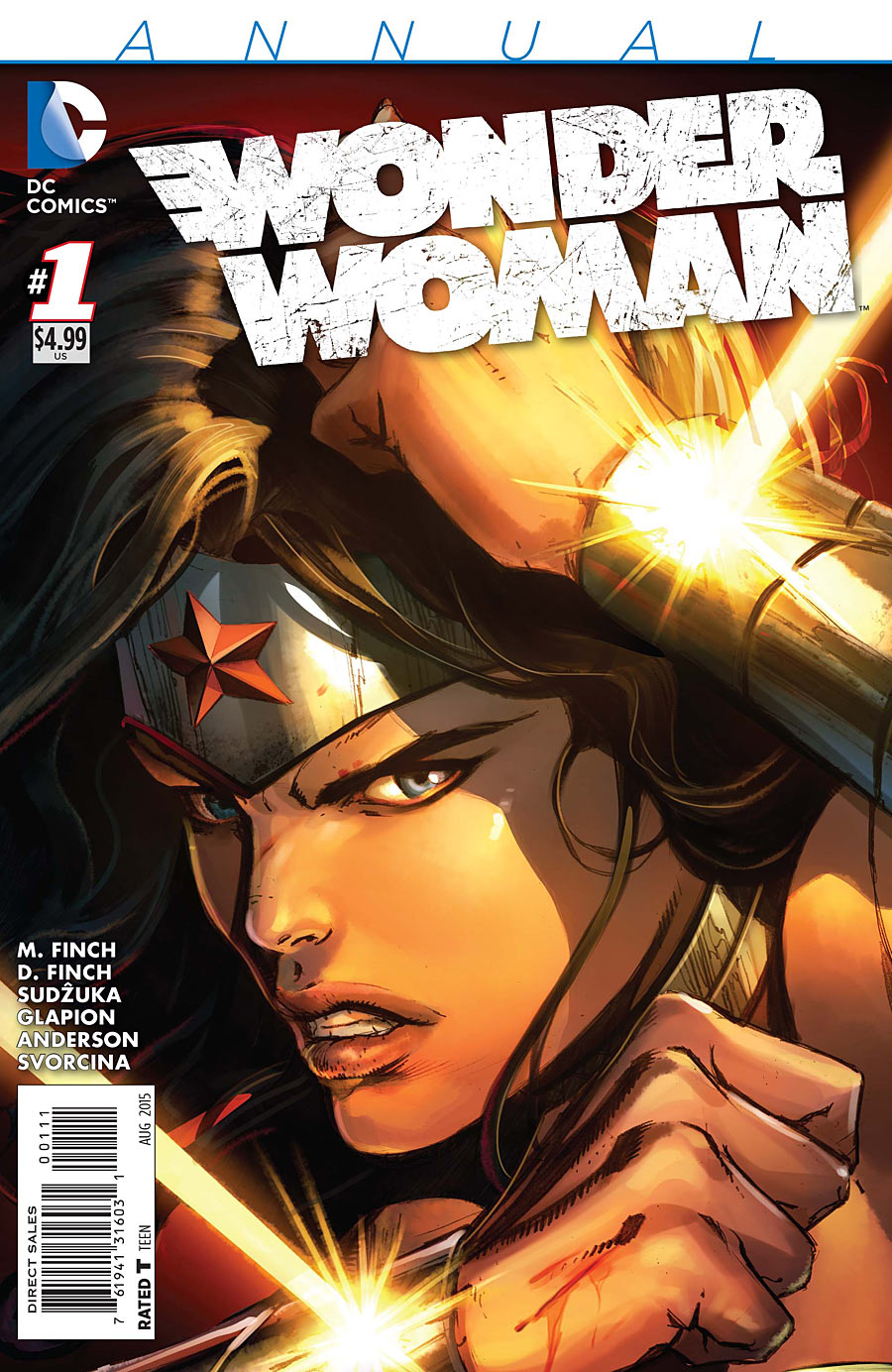 Due to the influx of Convergence issues, this is the first Wonder Woman title in two months. Can the Finches deliver in this highly anticipated finale and is it good?