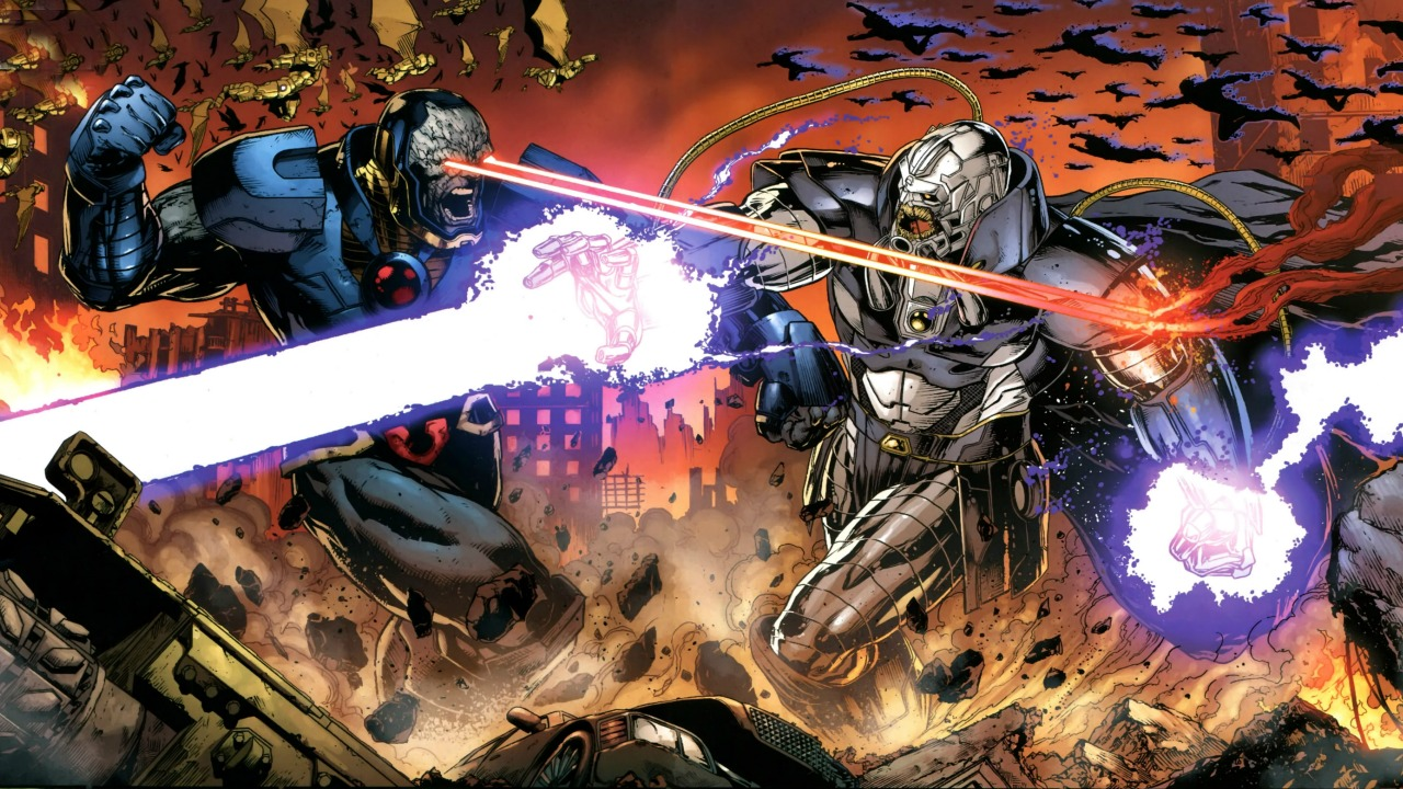 Currently writing Divergence, Geoff Johns isn't new to universe-altering events and this current run seems to be as impactful as his previous work. During a one-on-one panel at comic con, Johns discussed what we can look forward to after Divergence as it leads into DC's annual October event (e.g. Villain Month, Future's End). This year DC's special will be called Gods and Men and will feature a series of one-shots based on the fallout of the Darkseid War. These issues will focus on our heroes and their evolution into higher beings and quasi-God forms. Of these one-shots, Johns mentioned the following: