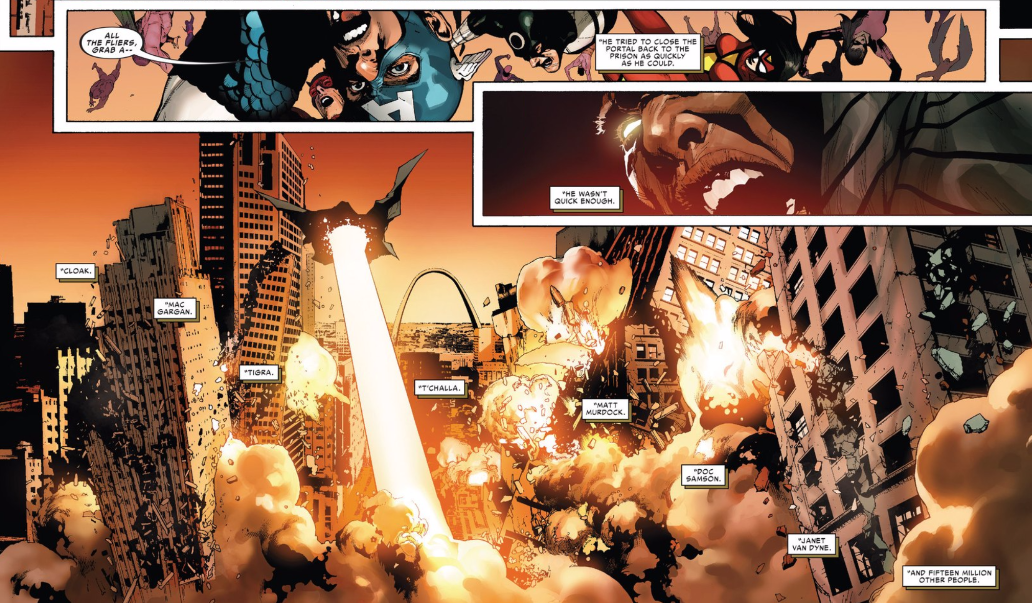 One of my more favorite Marvel events gets the Secret Wars tie-in experience today and it's got even more buzz on it because it's soon to be a movie. Well sort of, because this isn't a direct representation of the original series but what the fallout of the event could have looked like if it all went bad. Is it good?