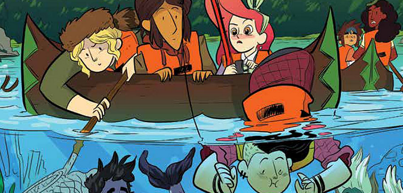 In this issue of Lumberjanes, we learn the real story of what caused Abigail to become a monster killer, and the combined history between her, Rosie and the Bear Woman. Is it good?